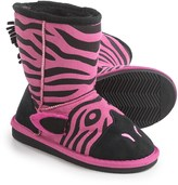 Muk Luks Ziggy Zebra Boots (For Little Kids)