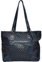 Sharo Genuine Leather Bags SHARO Genuine Leather Bags Deleite Woven Tote Handbag (Women's)