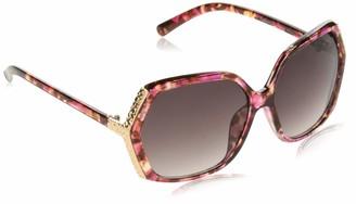 Southpole Women's 1007sp Pkan Non-Polarized Iridium Round Sunglasses