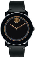 Movado 42mm Bold Watch, Black/Bronze