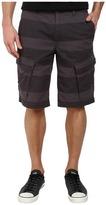 DKNY Horizontal Stripe Canvas Shorts