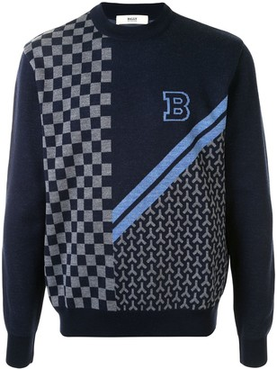 Bally Intarsia-Knit Jumper