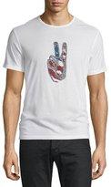John Varvatos Peace Rocks Graphic Short-Sleeve T-Shirt, Salt