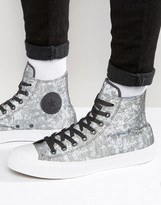 Converse Chuck Taylor All Star Ii Plimsolls In Grey 153544c-049