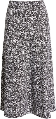 Halogen Bias Cut A-Line Skirt