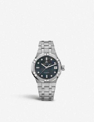 Maurice Lacroix AI6006-SS002-370-1 Aikon stainless steel and diamond watch