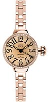 Glam Rock Women's MBD27085 Miami Beach Art Deco Beige Dial Brown Leather Watch