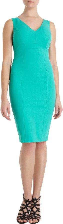 Narciso Rodriguez Geometric Seam Sheath Dress