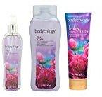 Bodycology Body 3 Piece Set (Fragrance Mist Spray, Body Cream, Body Wash) (Truly Yours)