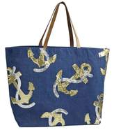 Mud Pie Anchor Dazze Tote