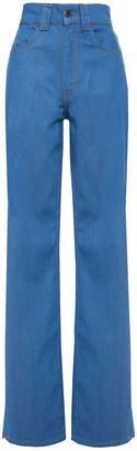 Victoria Victoria Beckham High-rise Wide-leg Jeans