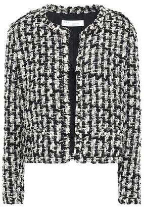 IRO Gonna Faux Pearl-embellished Metallic Tweed Jacket