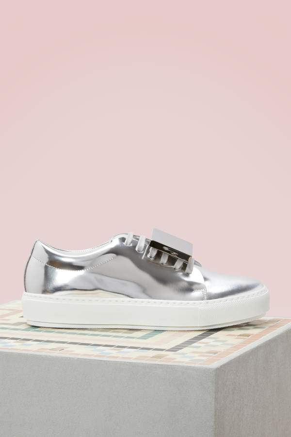 Acne Studios Patent Leather Adriana Sneakers