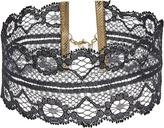 Steve Madden Lace Choker Necklace