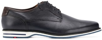 Lloyd textured trim derby shoes