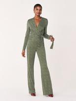 Diane von Furstenberg Melinda Silk-Jersey Jumpsuit