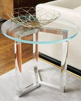 Bernhardt Salon Stainless Steel Side Table