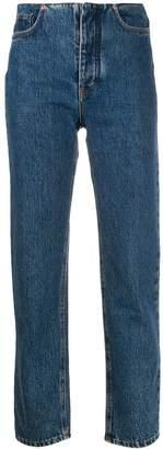 J. Lindeberg straight-leg cropped jeans