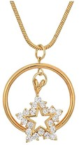 Vanessa Mooney The Atlas Star Necklace (Gold) Necklace