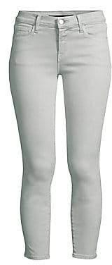 J Brand Women's 835 Mid-Rise Crop Skinny Jeans