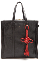 Balenciaga Bazar medium grained-leather tote