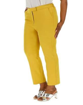 Jd Williams Statement Yellow Tapered Leg Trousers