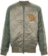 MHI diamond quilt reversible jacket