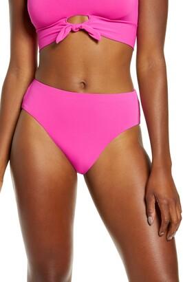 Robin Piccone Ava High Waist Bikini Bottoms