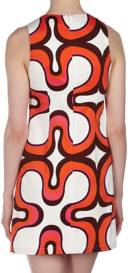 Julie Brown JB by Leah Printed Tank Dress