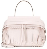 Tod's Wave Small Fringed Leather Tote