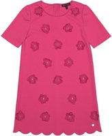 Juicy Couture Girl's Floral Embellished Ponte Dress, Pink