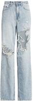 Ksubi Bring Back Life Playback High-Rise Destroy Baggy Jeans