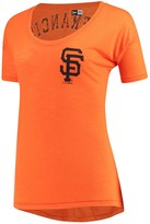New Era Women's 5th & Ocean by Orange San Francisco Giants Slub Jersey T-Shirt