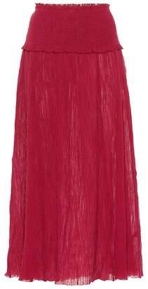 Zimmermann Suraya ramie and cotton skirt