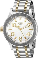Nixon Women's A4101921 38-20 Analog Display Japanese Quartz Two Tone Watch