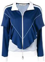 Golden Goose Deluxe Brand zipped ruffled tracksuit jacket