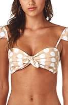 MONTCE Cabana Polka Dot Bikini Top