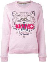 Kenzo Tiger sweatshirt - women - Cotton/Polyester/Spandex/Elastane - XS