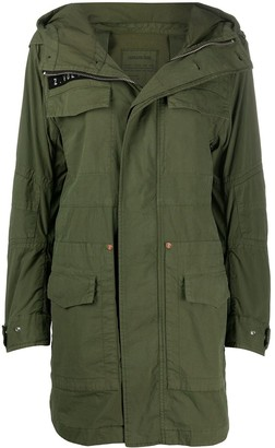 Zadig & Voltaire King hooded parka