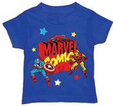 Marvel Comics The Avengers Logo Comic Book Superhero Toddler T-Shirt Tee