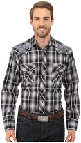 Roper 0097 Black Grid Plaid