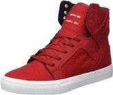 Supra Children (Youths) Skytop White Skate Shoe