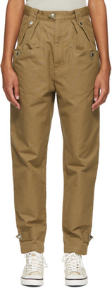 Etoile Isabel Marant Khaki Pulcie Trousers