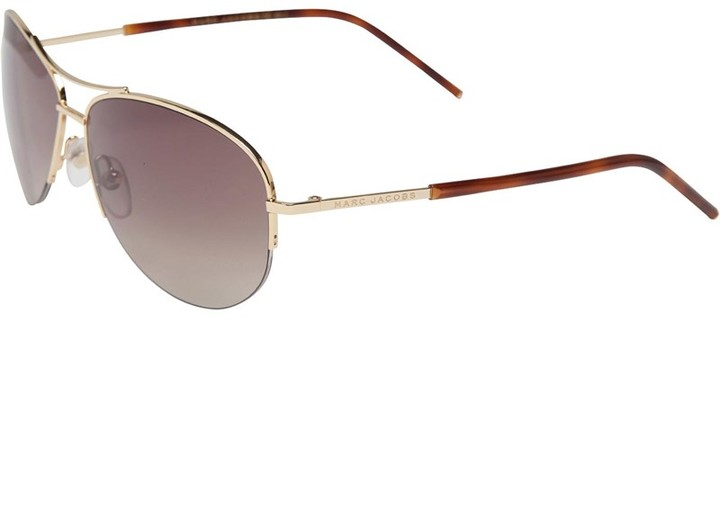 Marc Jacobs Womens Sunglasses Gold