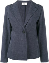 Maryam Nassir Zadeh single button blazer - women - Polyester/Polyurethane - 2