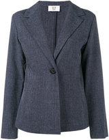 Maryam Nassir Zadeh single button blazer - women - Polyester/Polyurethane - 4