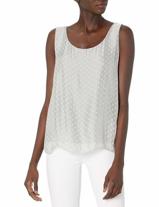 M Made in Italy Women's Woven Sleeveless top