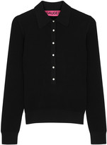Gauge81 Basel black ribbed jumper