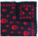 Alexander McQueen 'Skull' scarf - women - Silk/Modal - S