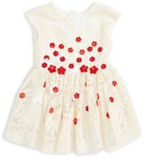 Halabaloo Infant Girl's Embroidered Fit & Flare Dress